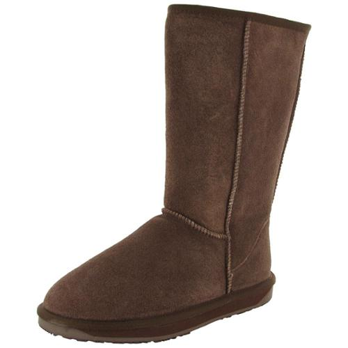 BooRoo Womens Eva Tall Suede Merino Wool Winter Boot Shoe by BooRoo