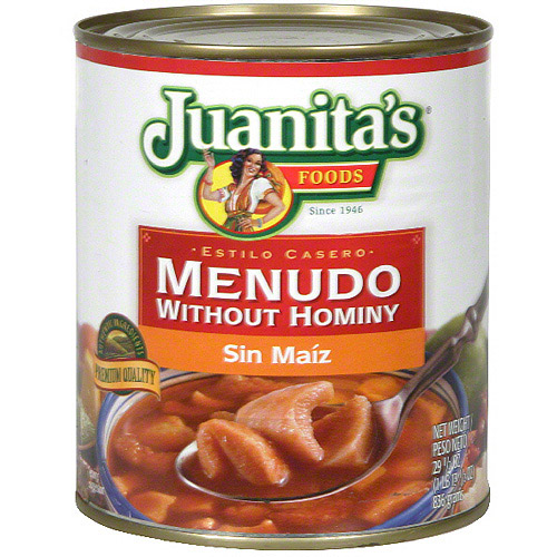 Juanita's Foods Menudo Without Hominy, 29.5 oz (Pack of 12)
