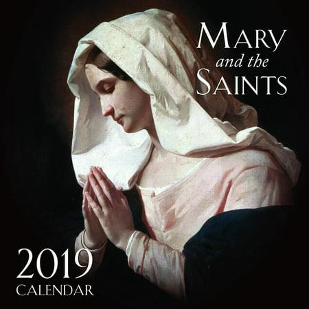 Saint Marys Press - 2019 Mary and the Saints Wall Calendar