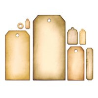 Sizzix Framelits Die Set 8PK - Tag Collection