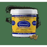 Stewart Pro-Treat Freeze Dried Chicken Liver Dog Treats