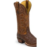 Nocona Men's Sienna Soft Pull-Up Full Quill Ostrich Let's Rodeo Cowboy Boot - Md5103