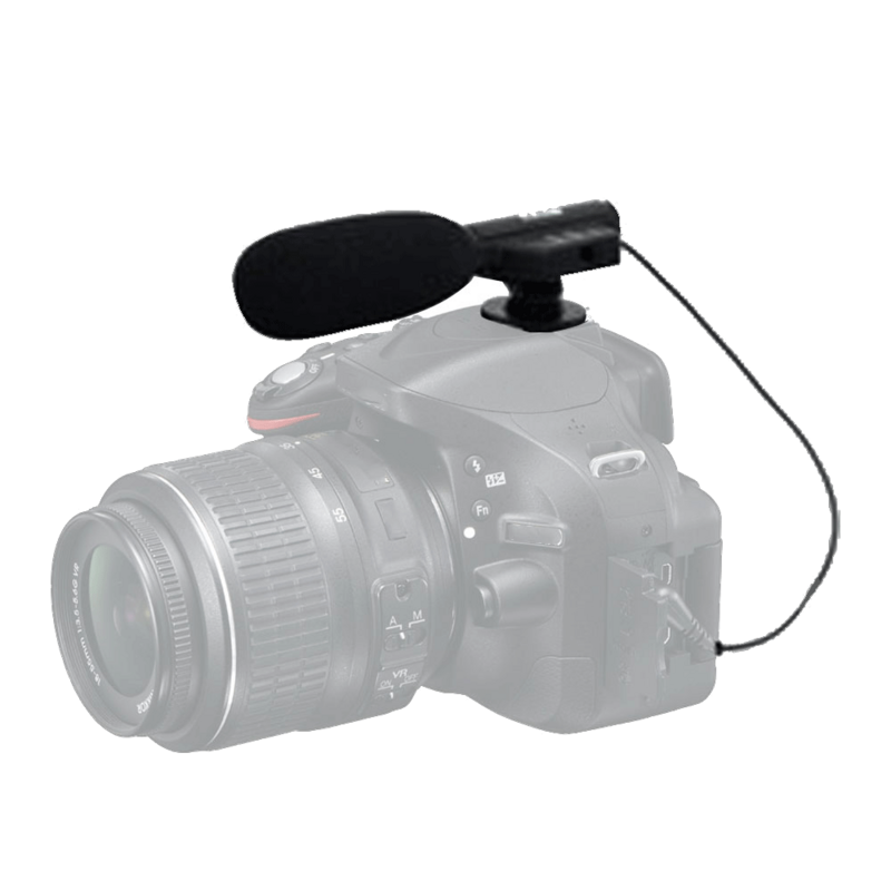 Vivitar Universal Mini Microphone MIC-403 for Sony Cyber-shot DSC-RX10 II Digital Camera External Microphone