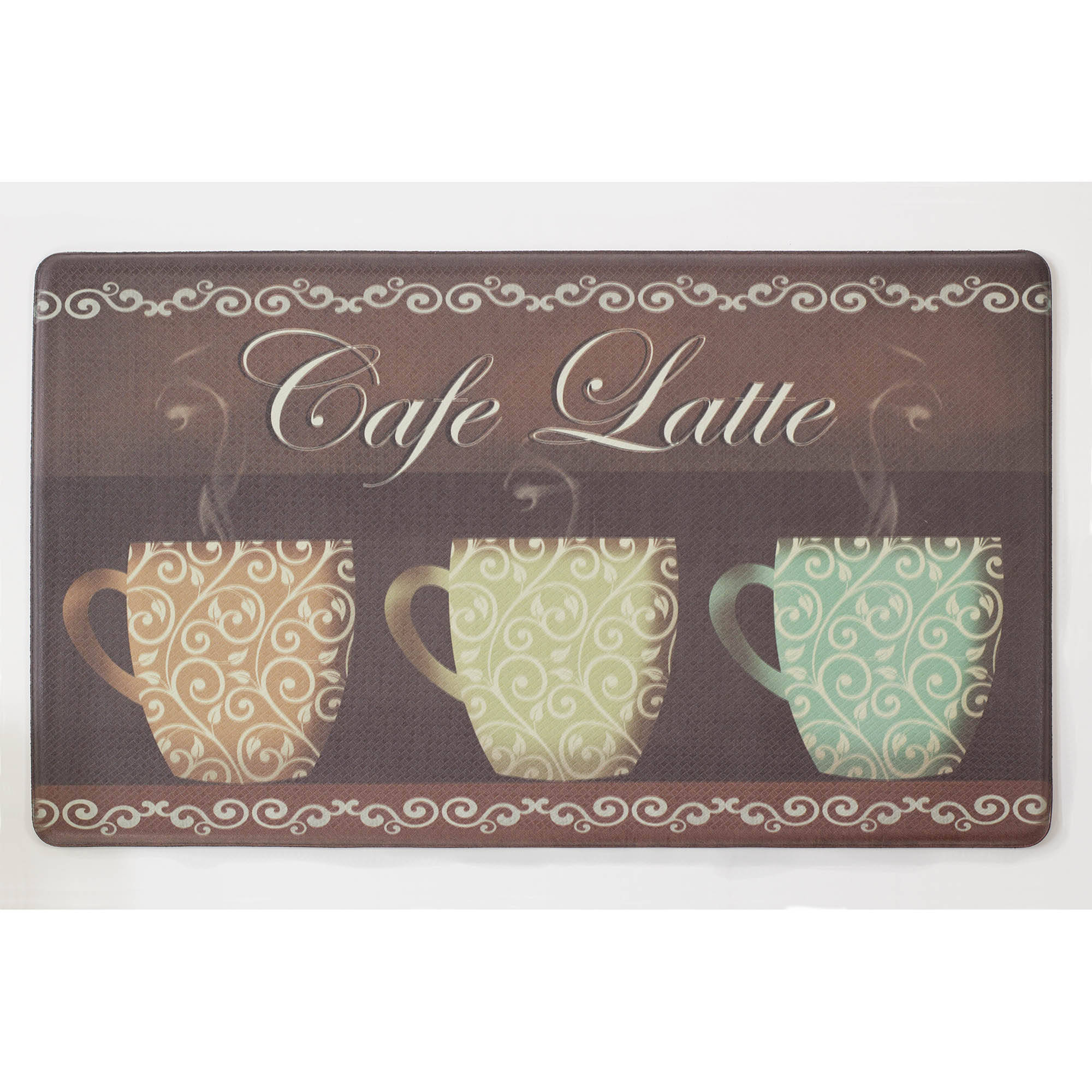Chef Gear Cafe Latte Anti-Fatigue Gelness Comfort Chef Mat