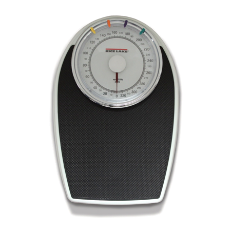 - Rice Lake RL-330HHL Dial Home Health Mechanical Weigh Scale