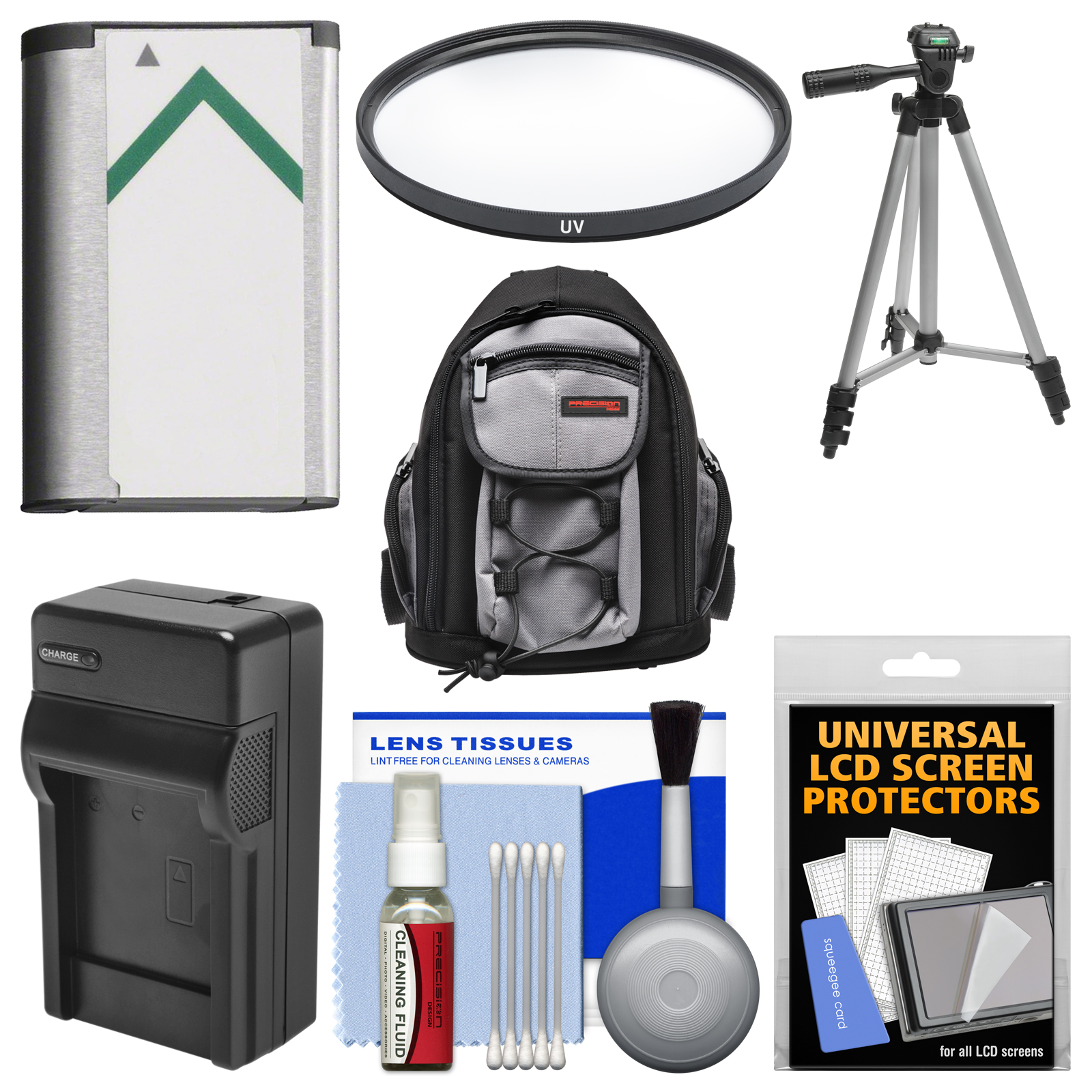 Essentials Bundle for Sony Cyber-Shot DSC-H400, DSC-HX350, & DSC-HX400V Digital Camera with Backpack + NP-BX1 & Charger + Tripod + Filter Kit