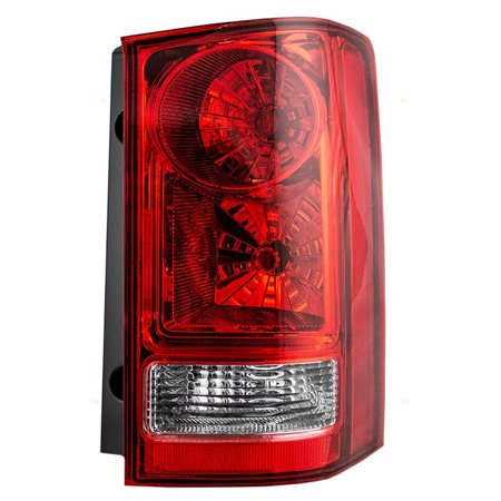 Passengers Taillight Tail Lamp Replacement for Honda Pilot SUV 33500SZAA02, Brightness and clarity for maximum safety By AUTOANDART