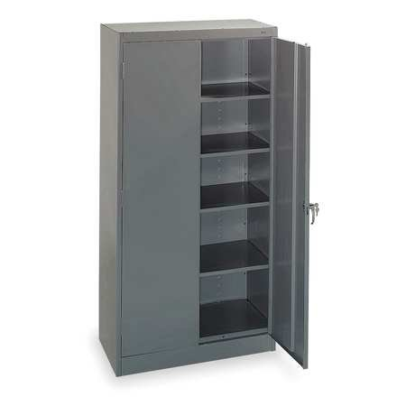 Tennsco Storage Cabinet, Steel, 1470 GRAY