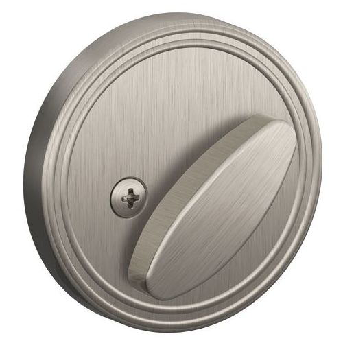 Schlage Jd81 One Sided Deadbolt Satin Nickel Walmart Com
