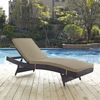 Modway Convene Outdoor Patio Chaise, Multiple Colors