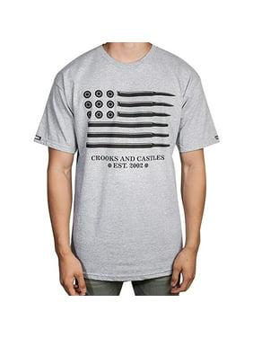 3add1c86d99d9 Product Image Crooks   Castles Men s Animo Flag Shirts
