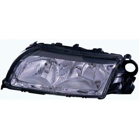 1999-2002 Volvo S80  Aftermarket Driver Side Front Head Lamp Assembly 2 bulbs (Volvo S80 Headlamp Assembly)
