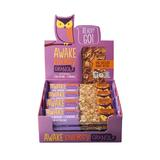 AWAKE Energy Granola Bars, Dark Chocolate Peanut Butter, 1.41 Oz, 16 Ct