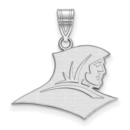 Logoart Sterling Silver Providence College Medium Pendant Ss002prc