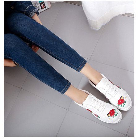 new women 's fashion shoes breathable casual sneakers