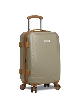Dejuno Legion Hardside Spinner TSA Combination Lock Carry-on Suitcase - Navy