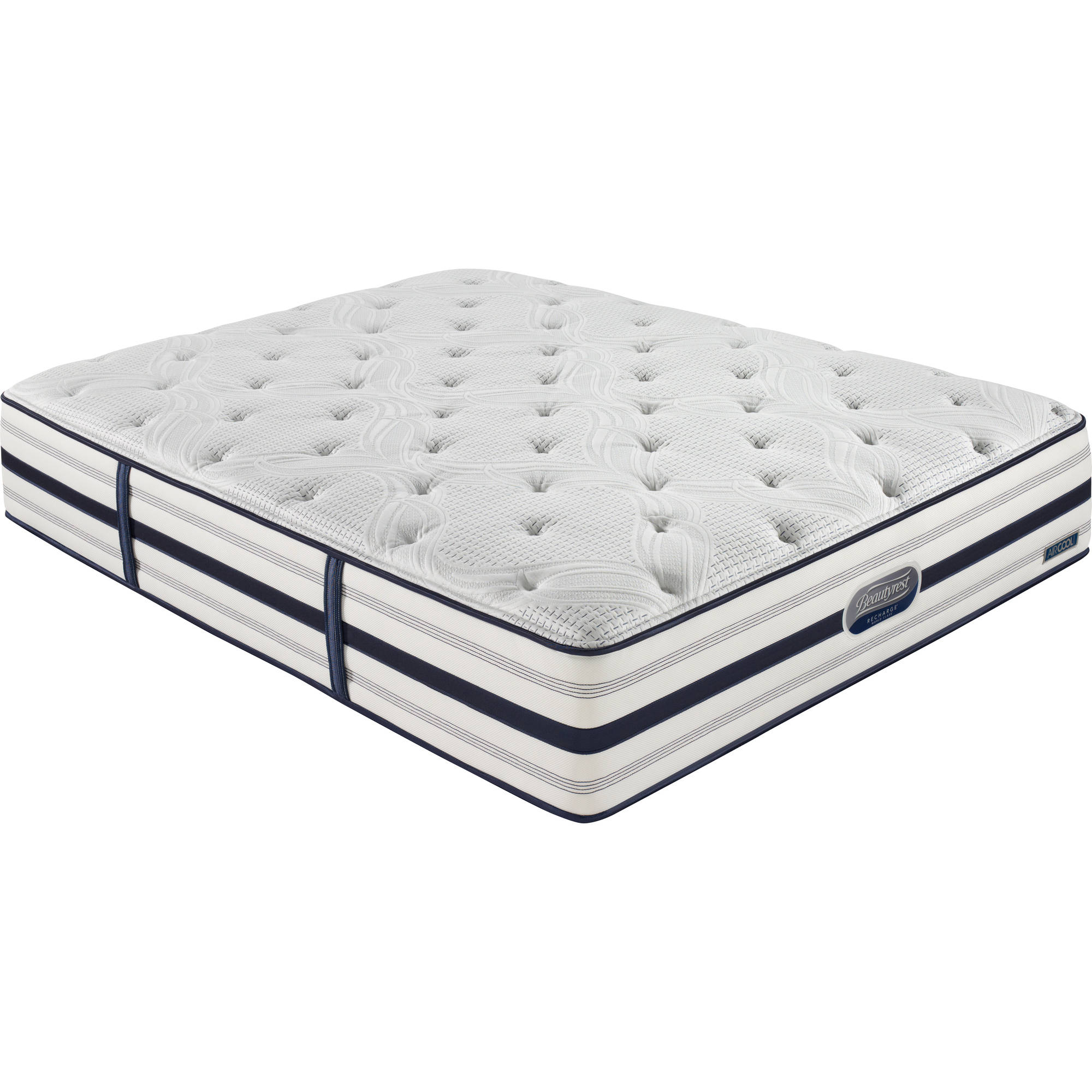 "Beautyrest Recharge World Class Midtown Terrace 12.5"" Pocketed Coil Firm Mattress with TruTemp Gel, Multiple Sizes (Includes Free White Glove Delivery)"