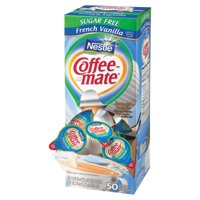 Nestle Coffee-mate Creamer Tubs, French Vanilla, Sugar-Free (50 ct.) - Pack of 3