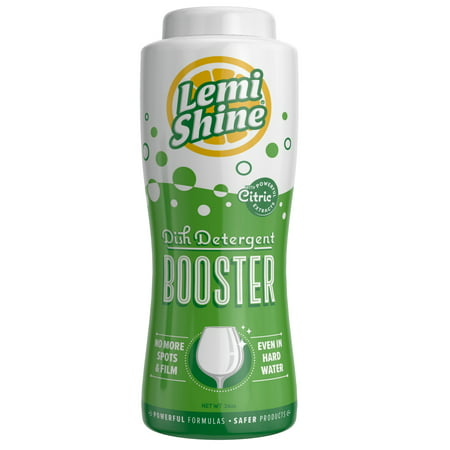 Lemi Shine Dish Detergent Booster, Natural Citric Extracts (Natural Dish)