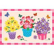 Fun Rugs Blossoms & Butterflies Kids' Rug