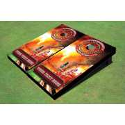 Wild Fire Themed Cornhole Boards