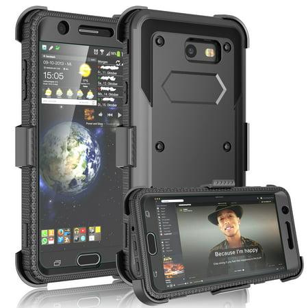 online store b1efd 4b3c5 Galaxy J7 Sky Pro Case,Galaxy J7 Sky Pro Holster Belt,Galaxy J7 Sky Pro  Clip,Tekcoo [TShell] [Built-in Screen] Locking Secure Swivel Belt Kickstand  ...