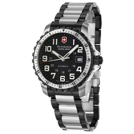 Victorinox Alpnach Automatic Steel Mens Watch 25 Jewels Date 241197
