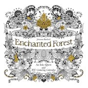 Enchanted Forest 2017 Wall Calendar : An Inky Quest and 2017 Coloring Calendar