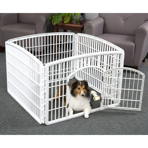 IRIS Indoor/Outdoor Plastic Pet Pen