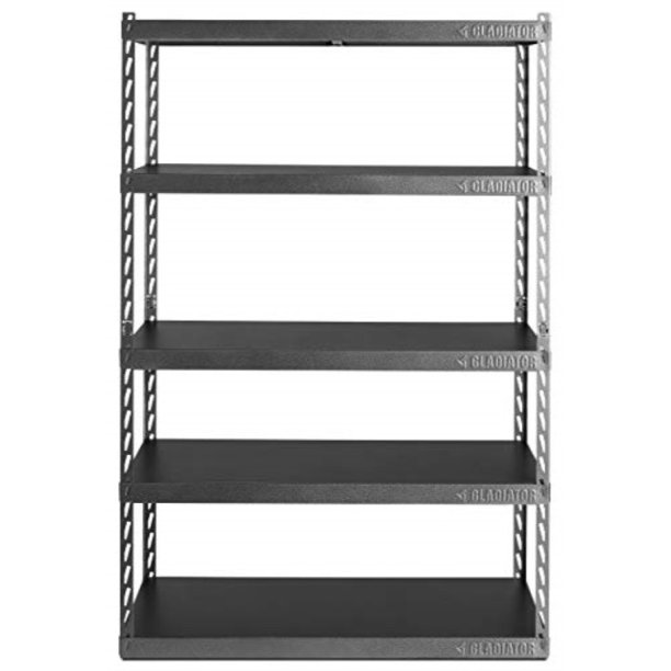 "48"" wide ez connect rack with five 24"" deep shelves - Walmart.com"