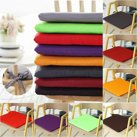38x38x2cm Portable Garden Patio Outdoor Chair Seat Pad Cushion Indoor Home Kitchen Office Mat Cover Protector Cushion ()