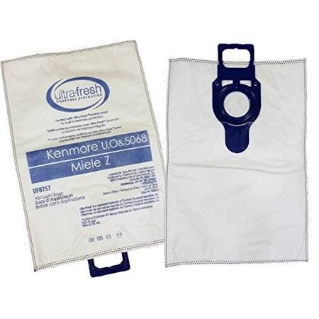 5 Kenmore Hepa Type O U Cloth Vacuum Bags For Upright Sears Models Progressive Intuition Elite Panasonic 2 50688 50690 5068