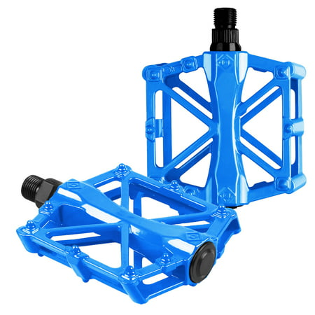 Bicycle Pedals Aluminum Alloy Flat Platform Mountain Bike Pedals Pedal Universal 9/16 Inch Road Pedals for BMX/MTB Bike City Bike - Keo Carbon Ti Road Pedal