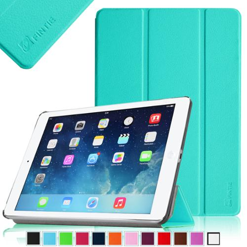 Fintie iPad Air (iPad 5) Case - Ultra Slim Lightweight Stand SmartShell Cover with Auto Wake / Sleep, Blue