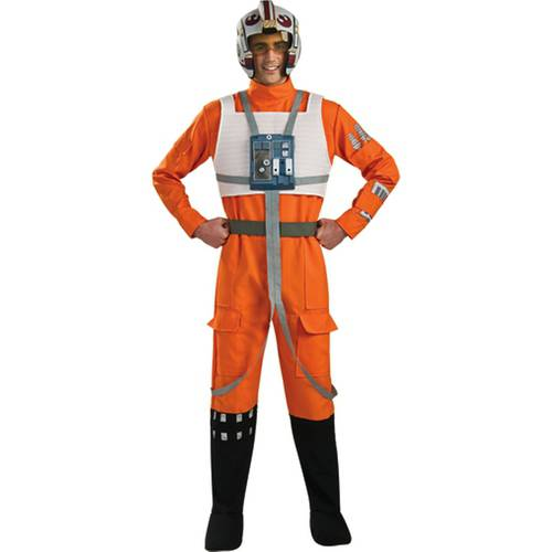 Star Wars X-wing Fighter Pilot Adult Halloween Costume (Halloween Costume Pilot)