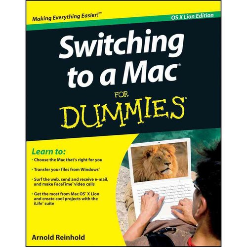 Switching to a Mac For Dummies: Mac OS X Lion Edition
