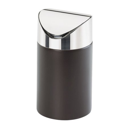 - Cal-Mil Counter Receptacle Swing Top Trash Can