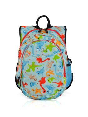 Kids Pre-School All-In-One Backpack With Cooler - Dinosaur