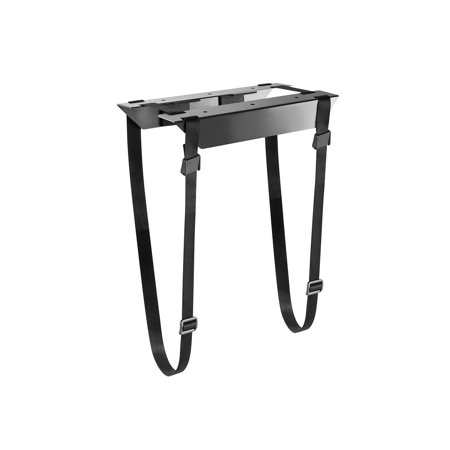 - Monoprice Computer Case CPU Tower Holder, Low Profile Under Desk Mount, Designed For Use With Sit-Stand Desks - Workstream Collection