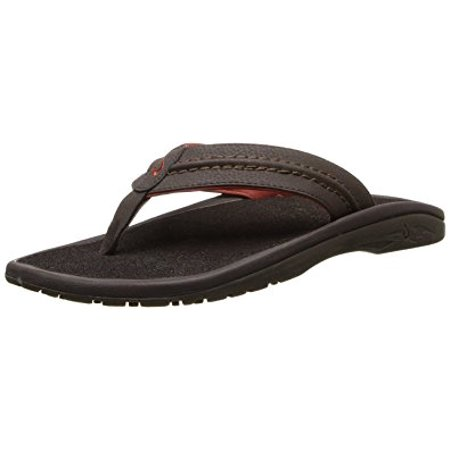 78a9f48b0c999 OluKai - Olukai Hokua Mens Sandals-Dark Java-11 - Walmart.com