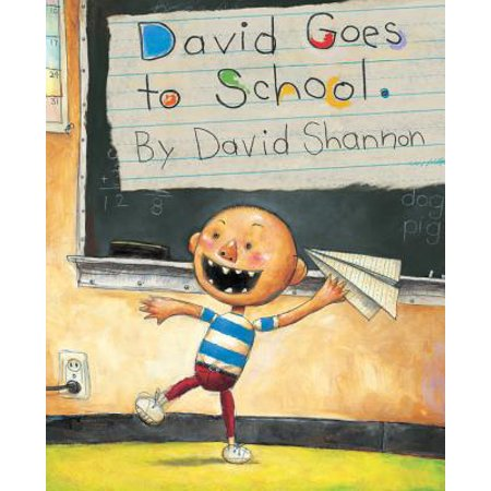 David New Book - David Goes to School (Hardcover)