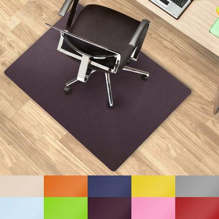 chair mat for hard floors polypropylene chair floor protector purple 30 x48 desk floor. Black Bedroom Furniture Sets. Home Design Ideas