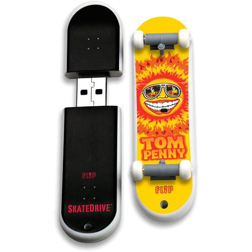 Image of Action Sport Drives 8GB Flip USB Skate Drive, Tom Penny