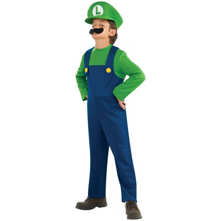 Super Mario Bros Luigi Toddler - Mario And Luigi Costumes Womens