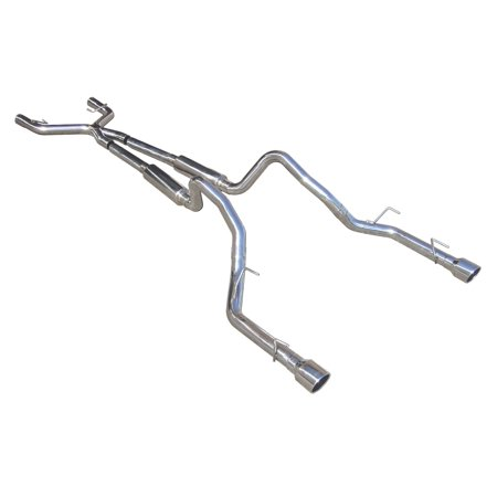 Pypes Performance Exhaust SFM69 Cat Back Mid Muffler Exhaust (Performance Cat Back Exhaust System)
