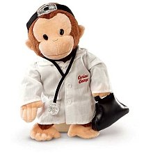 "Russ Berrie Curious George Doctor 12"" by Russ Berrie"