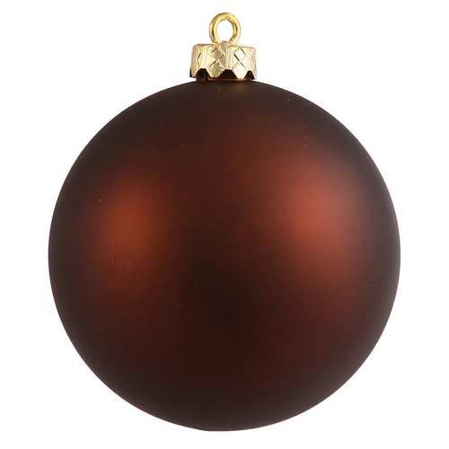The Holiday Aisle UV Drilled Ball Ornament (Set of 4)