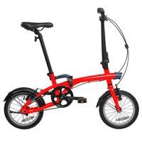 "Btwin by DECATHLON - Folding Bike Tilt 500 - 14"" - Red"