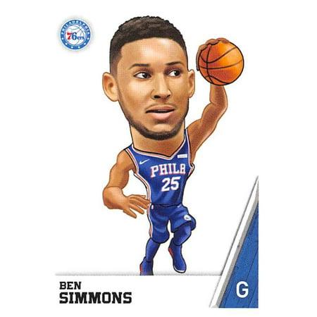 2018-19 Panini NBA Stickers #168 Ben Simmons Philadelphia 76ers Basketball Sticker