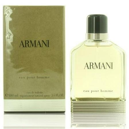 Giorgio Armani MARMANI3.4EDTSPR 3.4 oz Eau De Toilette Spray for (Armarni Mens)